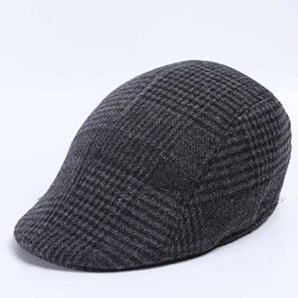 RISTHY Unisex Plaid Newsboy Ivy Irish Cabbie Beret Golf Gorra ...