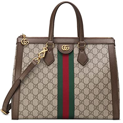b37635bfef Amazon.com: Gucci Ophidia GG Medium Top Handle Bag Handbag Article: 524537  K05NB 8745 Made in Italy: Shoes