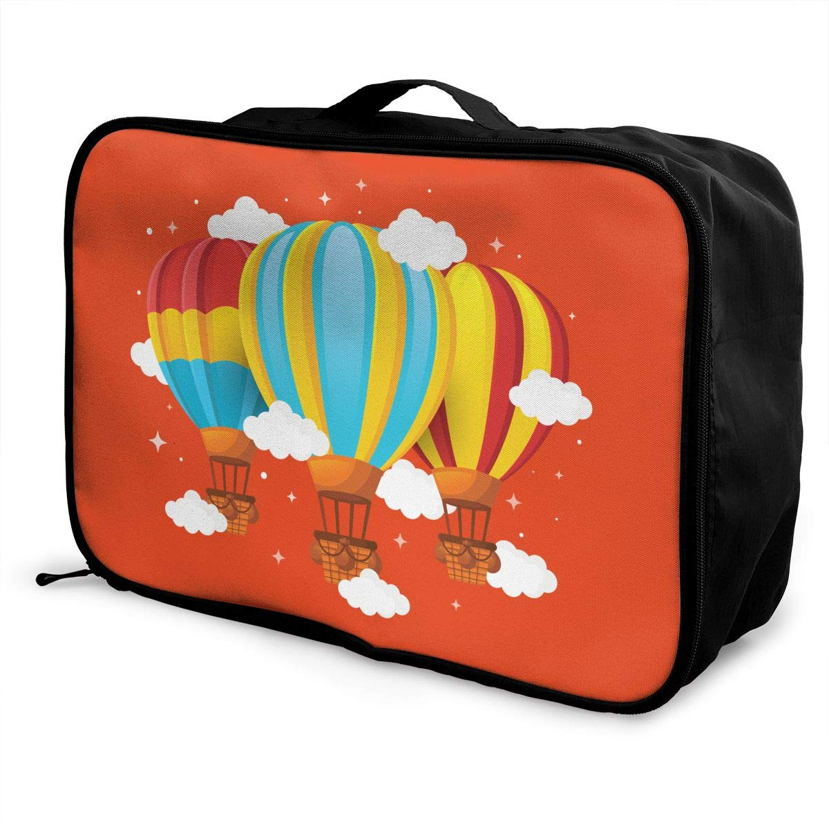 Travel Luggage Duffle Bag Lightweight Portable Handbag Hot Air Balloon Large Capacity Waterproof Foldable Storage Tote