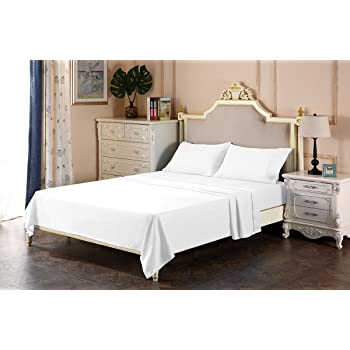 Best Seller The Great American Store   1800 Series Brushed Microfiber Hide  A Bed Sleeper Sofa Sheets Full Size White