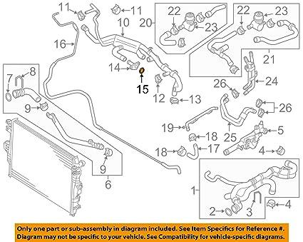 Wondrous Amazon Com Volkswagen 03H 121 041 B Engine Coolant Outlet Gasket Wiring Database Indigelartorg