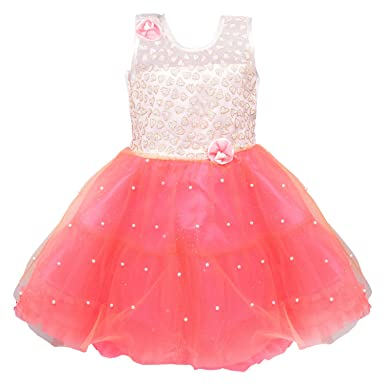 6a626e92b Wish Karo Baby Girls Net Frock Dress - (fe2215)  Amazon.in  Clothing ...