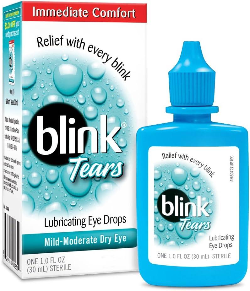 Blink Tears Lubricating Eye Drops, 1 oz.