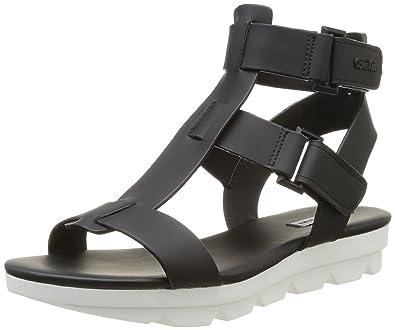 Calvin Klein Jeans CAMEO RUBBERIZED CALF, Damen Knöchelriemchen Sandalen