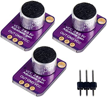 Electronics & Photo Amplifiers gaixample.org yotijar 3 X Electret ...