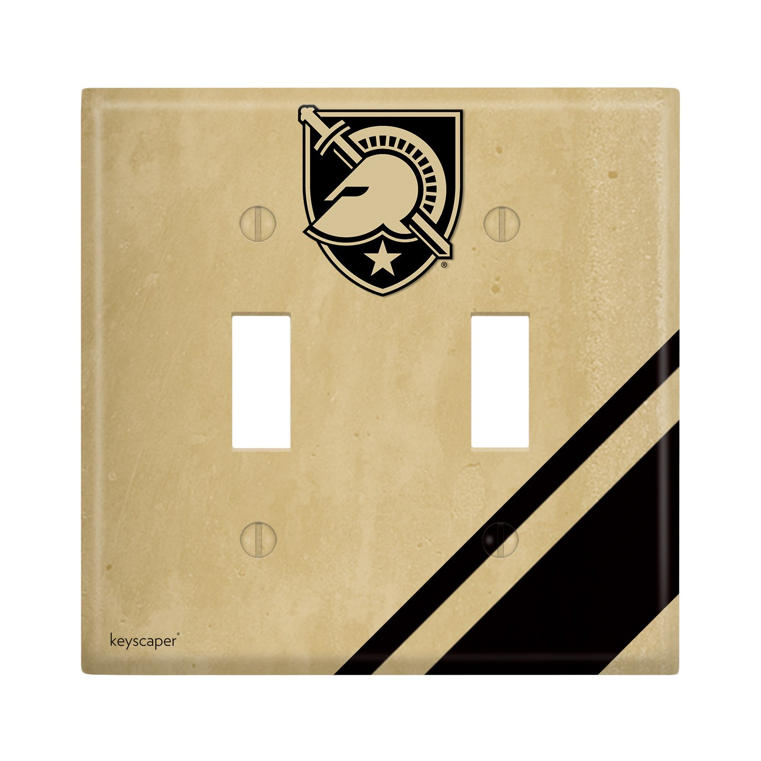 Army Black Knights Double Toggle Light Switch Cover NCAA