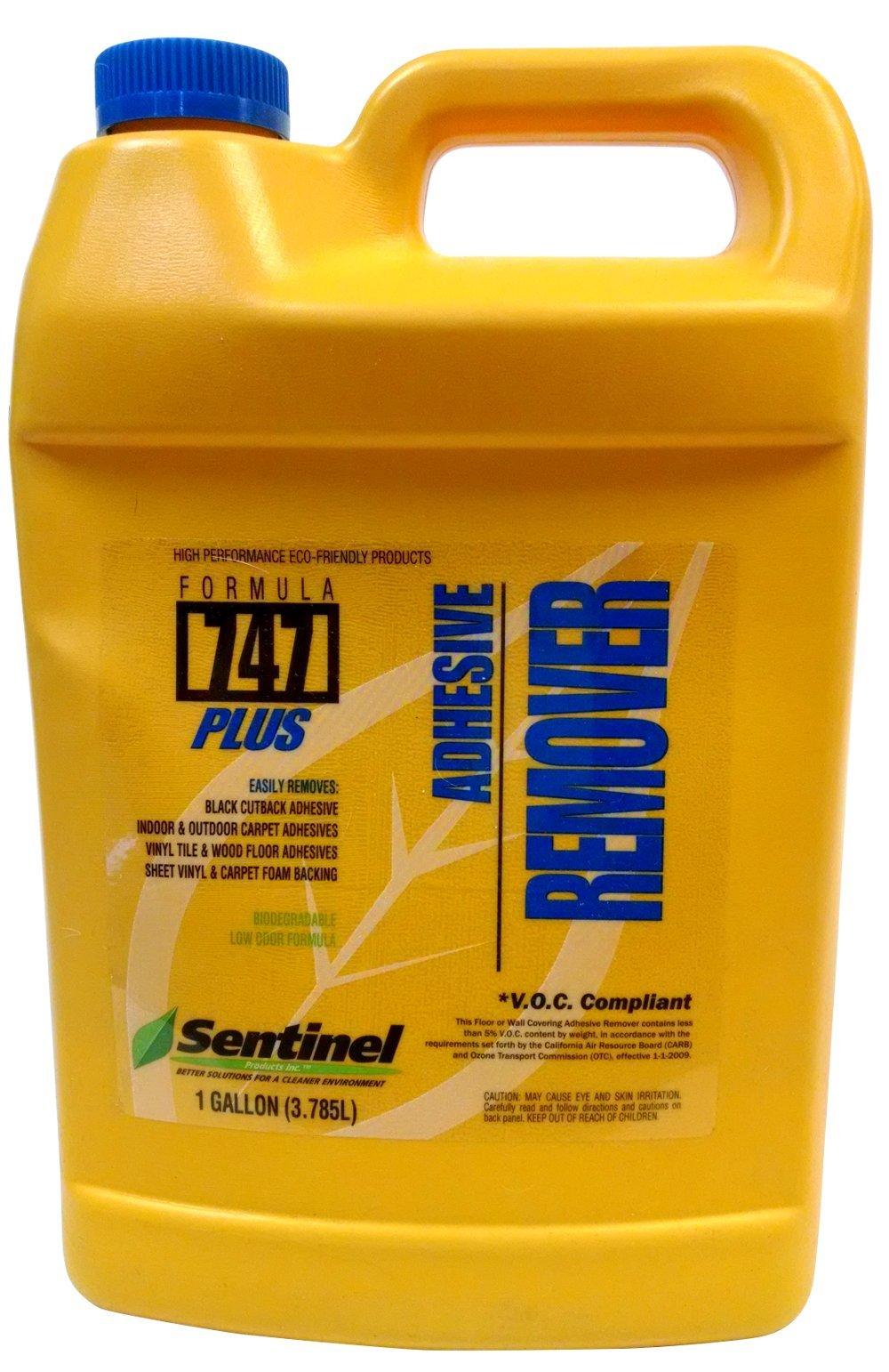 Sentinel 747 Plus Adhesive Remover 128 oz Gallon