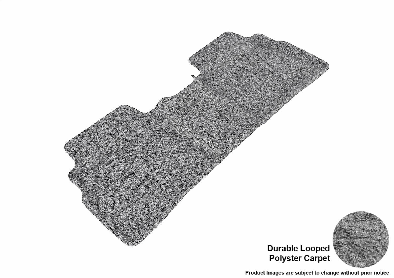 Gray 3D MAXpider Front Row Custom Fit Floor Mat for Select Hyundai Sonata//Kia Optima Models L1HY03812201 Classic Carpet