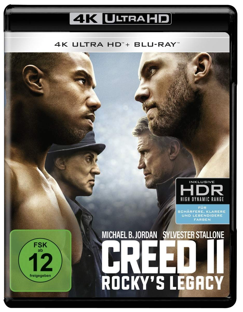 Creed 2 - Rocky's Legacy (4K Ultra HD) (+ Blu-ray 2D) [2018]