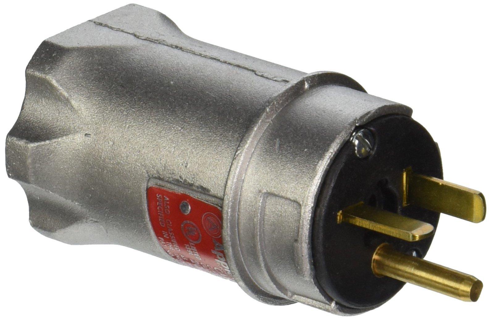 Appleton ECP-20232 Plug, 250, 20A, 2W, 3P, 6-20P
