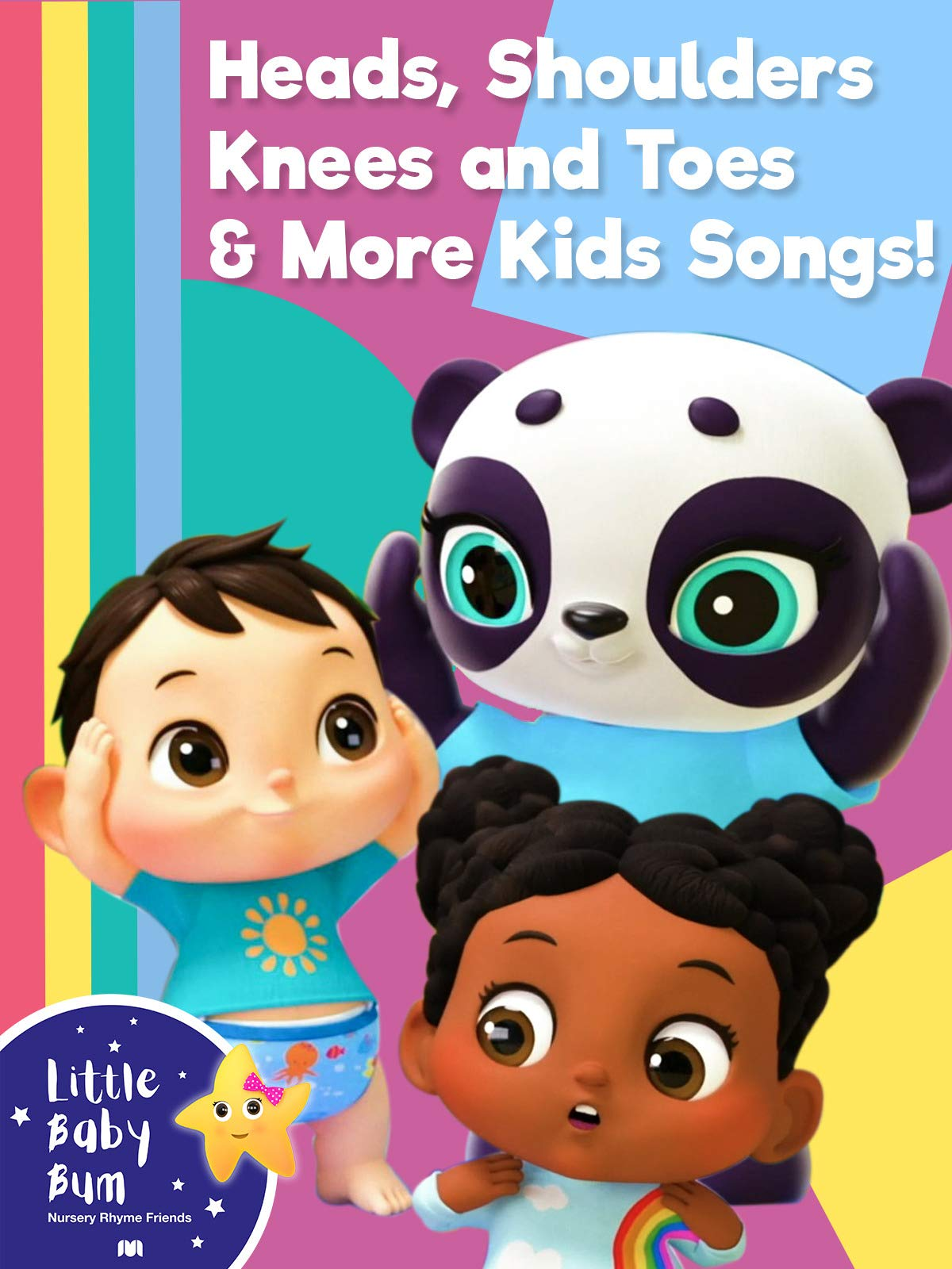 Little Baby Bum - Heads, Shoulders, Knees and Toes And More Kids Songs