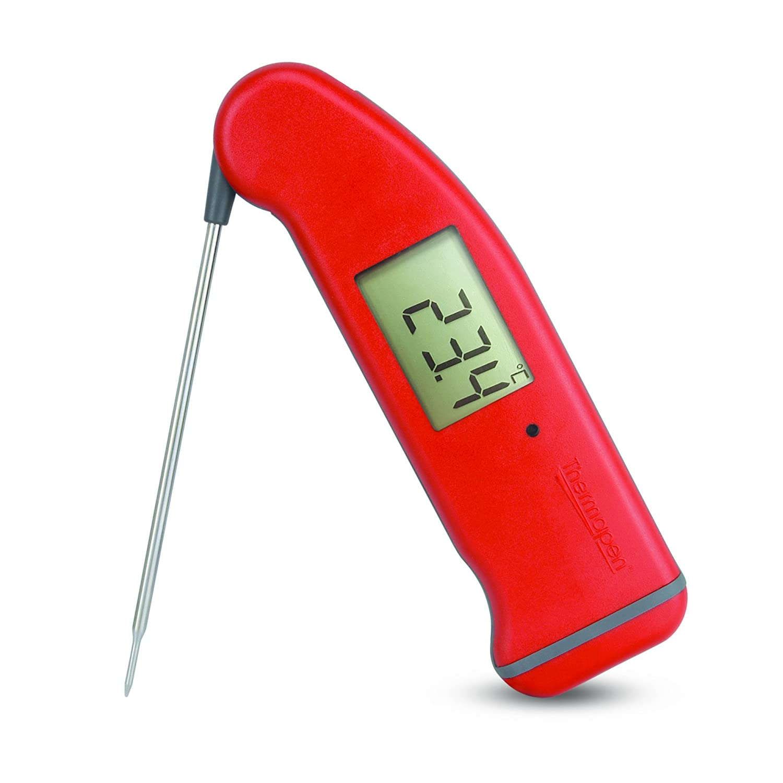 ETI SuperFast Thermapen 4 thermometer - Patented automatic 360° rotational display (Black) ETI Ltd