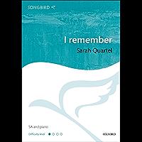 I remember (Songbird) (English Edition)