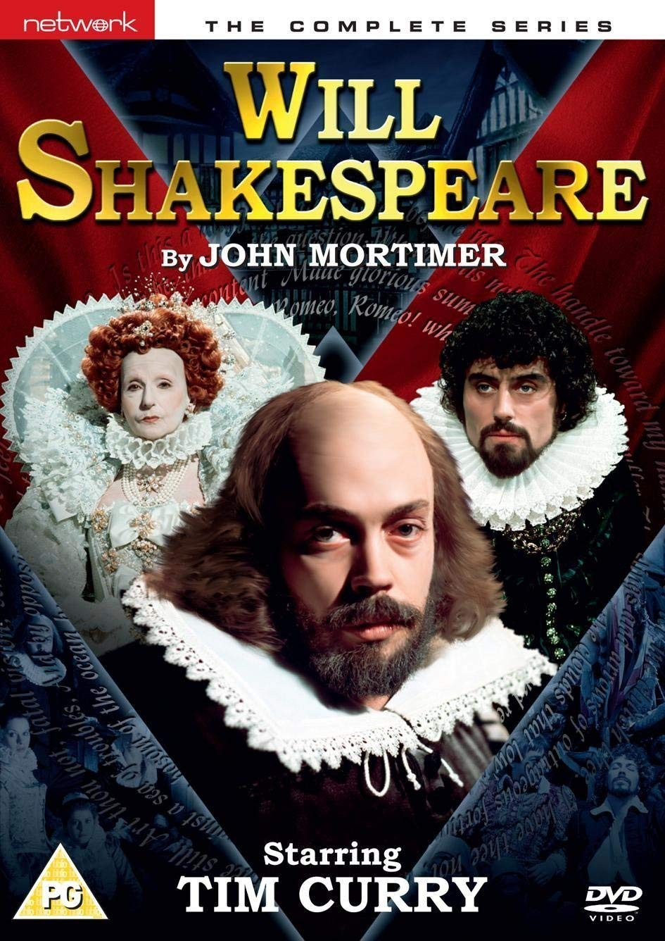 Will Shakespeare - The Complete Series DVD 1978 by Tim Curry ...