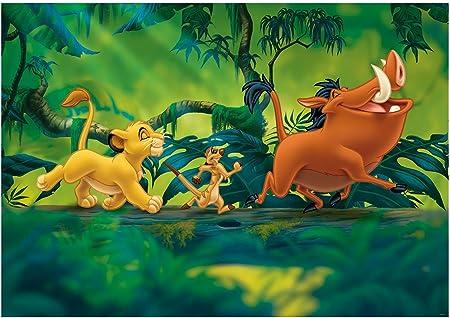 2 Tailles disponible Photo papier peint mural Disney pour enfants roi lion