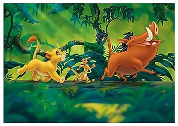 Papel Pintado Disney El Rey León Niños Niños Mural 3204ve 254cm X