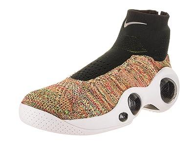 Nike Men's Flight bonafide Black/Black White Basketball Shoe 8.5 Men US