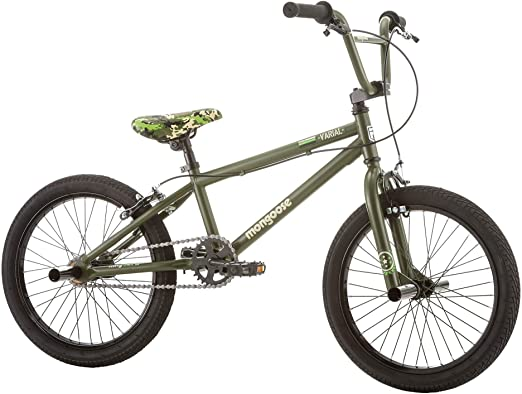 Mongoose Varial bicicleta BMX junior Freestyle de 18 pulgadas ...