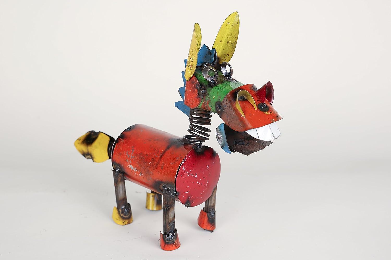 Springy Donkey Mini Recycled Metal Animals
