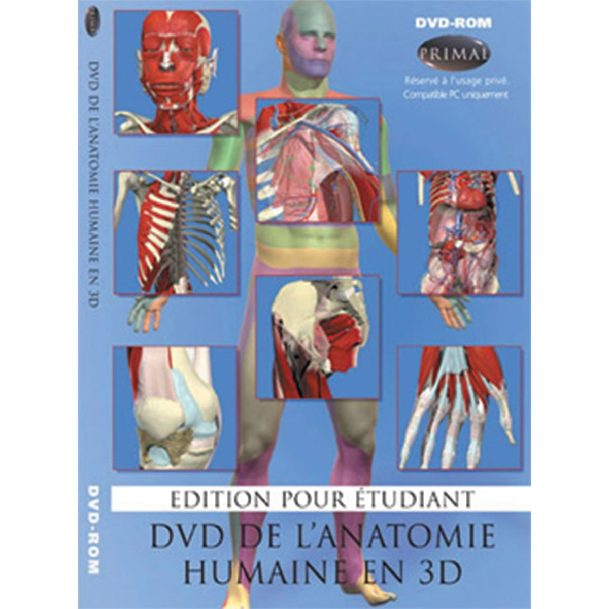 Primal Pictures 978-1-904369-967 3D Head and Neck Anatomy for Dentistry Students
