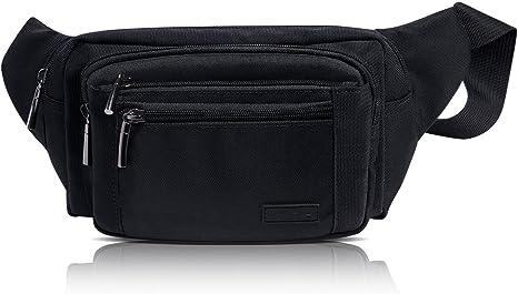 MUTANG Pack de Cintura Ajustable Fanny Pack para Hombres y Mujeres ...