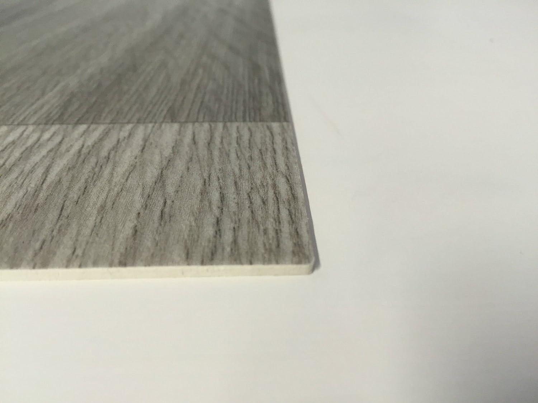 PVC-Belag verf/ügbar in der Breite 200 cm /& in der L/änge 250 cm CV-Boden wird in ben/ötigter Gr/ö/ße als Meterware geliefert PVC Vinyl-Bodenbelag in Dielen Optik XL Oak CV-Belag in Eiche-Optik