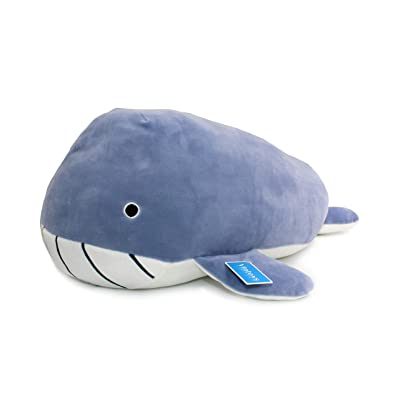 "Vintoys Very Soft Blue Whale Shark Hugging Pillow Plush Doll Fish Plush Toy Stuffed Animals 21"": Toys & Games [5Bkhe1801224]"