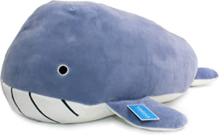 large stuffed toy whale whale home decor pillow Big plush sperm whale