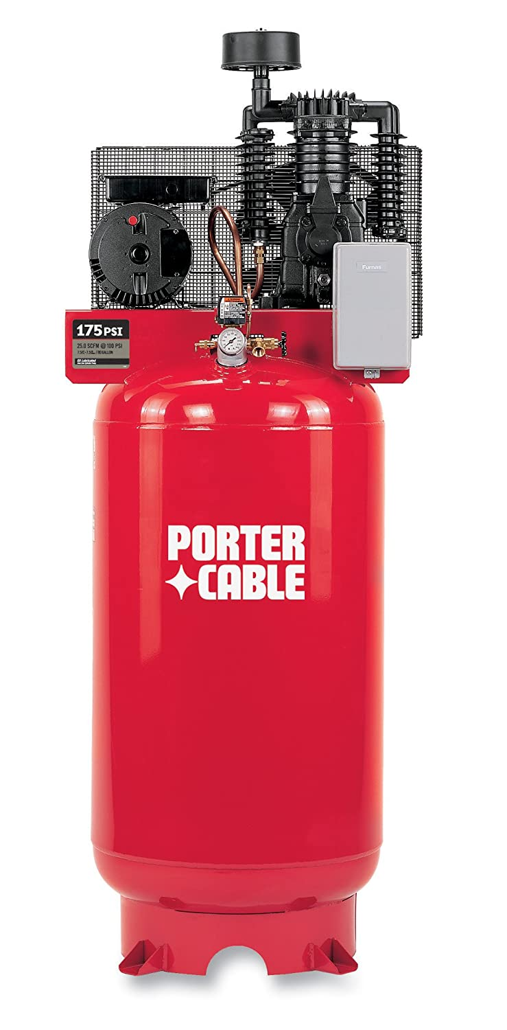 Porter Cable Cplmc7580v2c 30 Amp 75 Horsepower 80 Compressor Wiring Diagram Gallon Oiled Vertical Home Improvement
