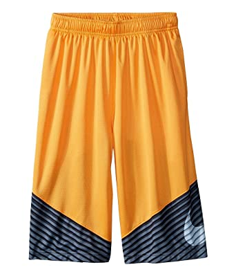 Nike Boy`s Elite Reveal Dri-Fit Athletic Shorts (SM (7-