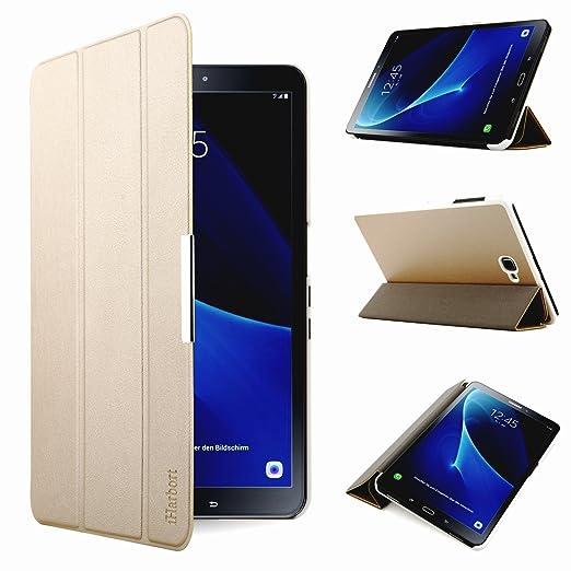 320 opinioni per iHarbort® Samsung Galaxy Tab A 10.1 custodia in pelle, ultra sottile di peso
