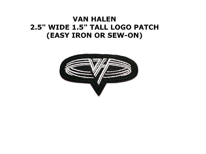 Amazon Van Halen Rock Band Embroidered Ironsew On Comics