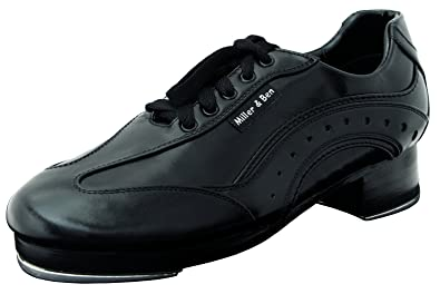 Tap Shoes SporTap; Black & Black (GT) - Royal - Wide Sizes