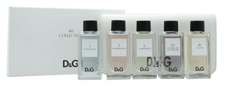 5f0b8576d9b Dolce   Gabbana The Collection Mini Set 5 x 20ml (1 Le Bateleur + 3 l  Imperatrice + 6 L Amoureux + 1  Amazon.ca  Beauty