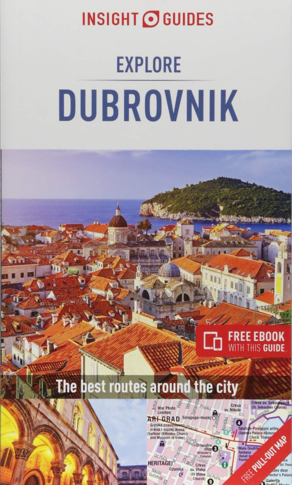 Insight Guides: Explore Dubrovnik - Dubrovnik Guide Book (Insight Explore Guides)