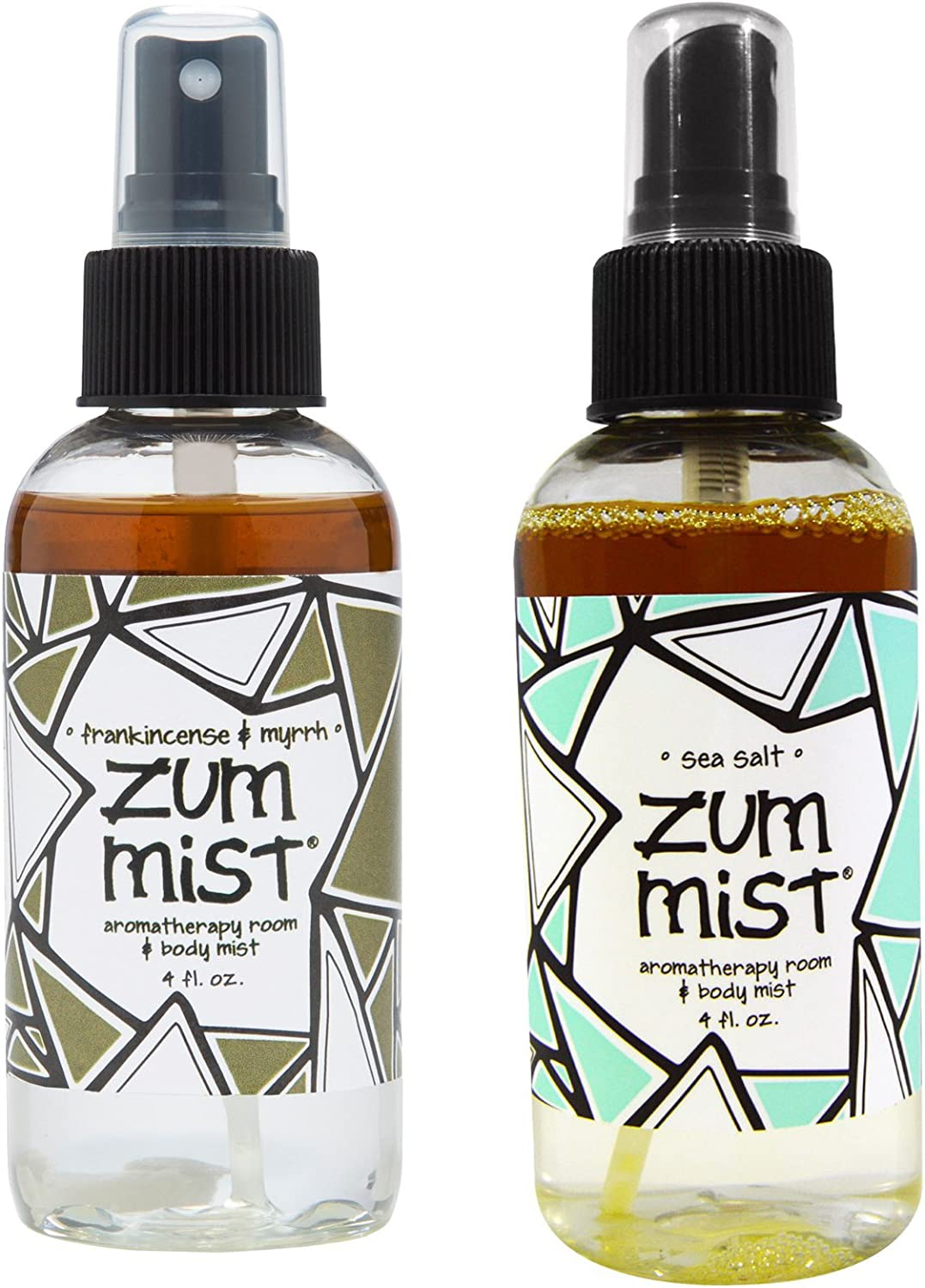 Indigo Wild Zum Mist Frankincense & Myrrh and Sea Salt Mist Body Spray 4 fl. oz. each, 2 Pack