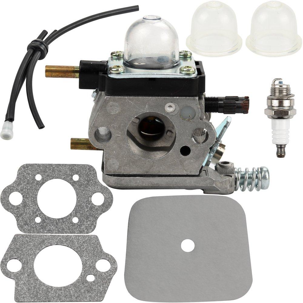 Dalom C1U-K54A Carburetor for Mantis Tiller 7222 7222E 7222M 7225 7230 7234 7240 7920 7924 Snow Removal Lawn Mower Replacement Parts