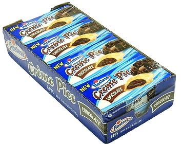 Hostess Creme Pies Chocolate 45 Oz Pack Of 8 Pies Amazoncom