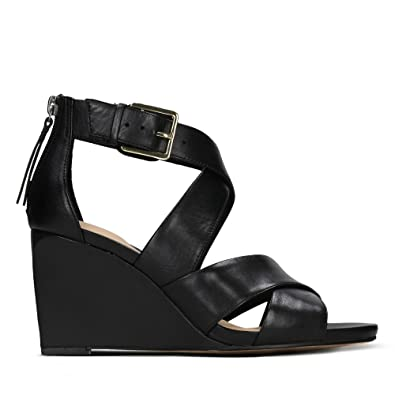 8567a147583 Clarks Ysabelle Jules Leather Sandals in Black  Amazon.co.uk  Shoes ...