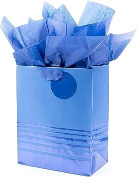 Girly Girl Gift Bag Handmade Gift Bag Feminine Gift Bag Gift Wrapping 9x5 Gift Bag Gift Bag with Tag and Tissue