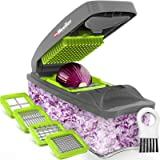 Mueller Chopper 4 Blade Pro Series - Strongest - NO MORE TEARS 40% Heavier Duty Multi Vegetable-Fruit-Cheese-Onion…