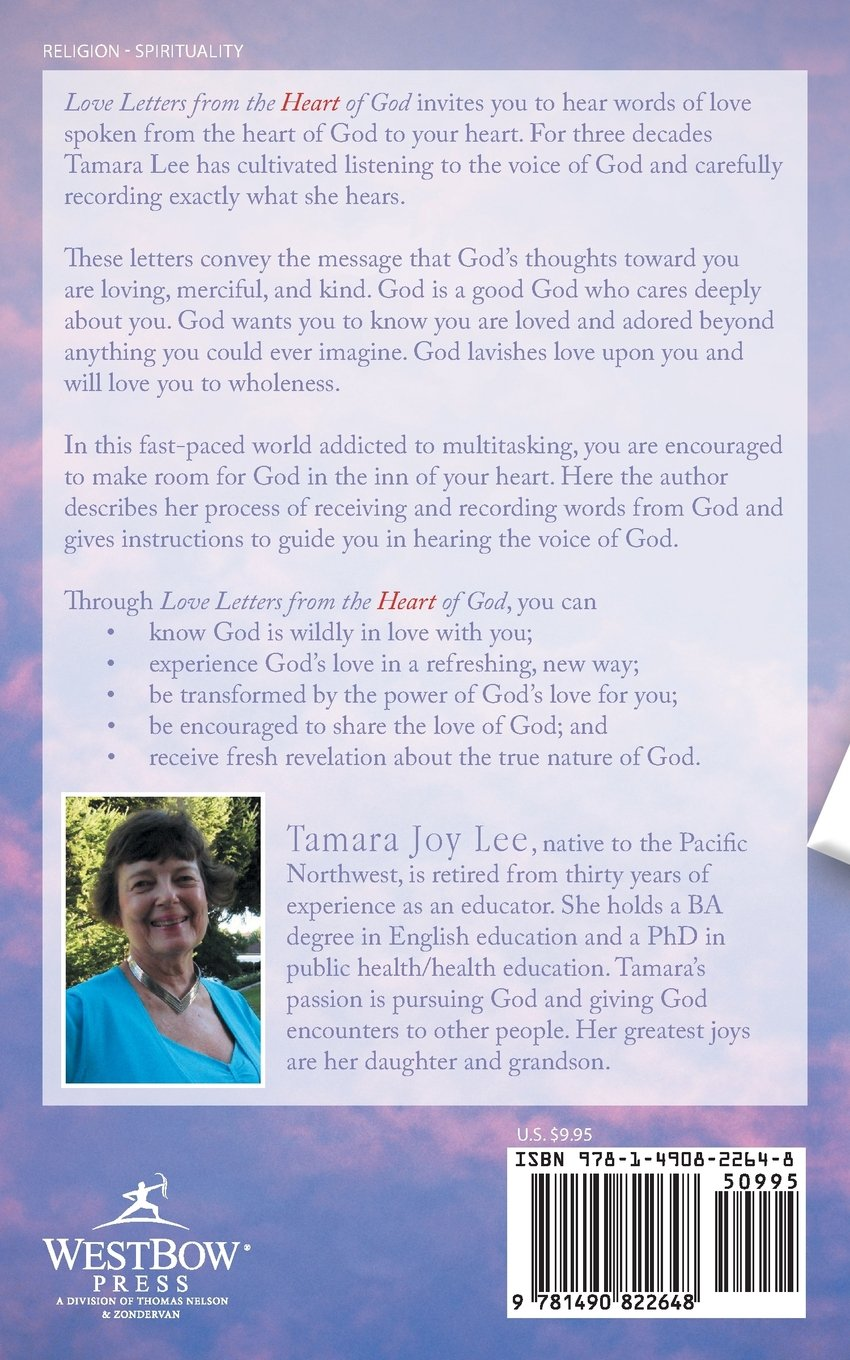 love letters from the heart of god tamara joy lee phd 9781490822648 amazoncom books