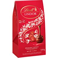 Lindt Lindor Milk Chocolate, Jumbo Bag with 52 truffles, 650g
