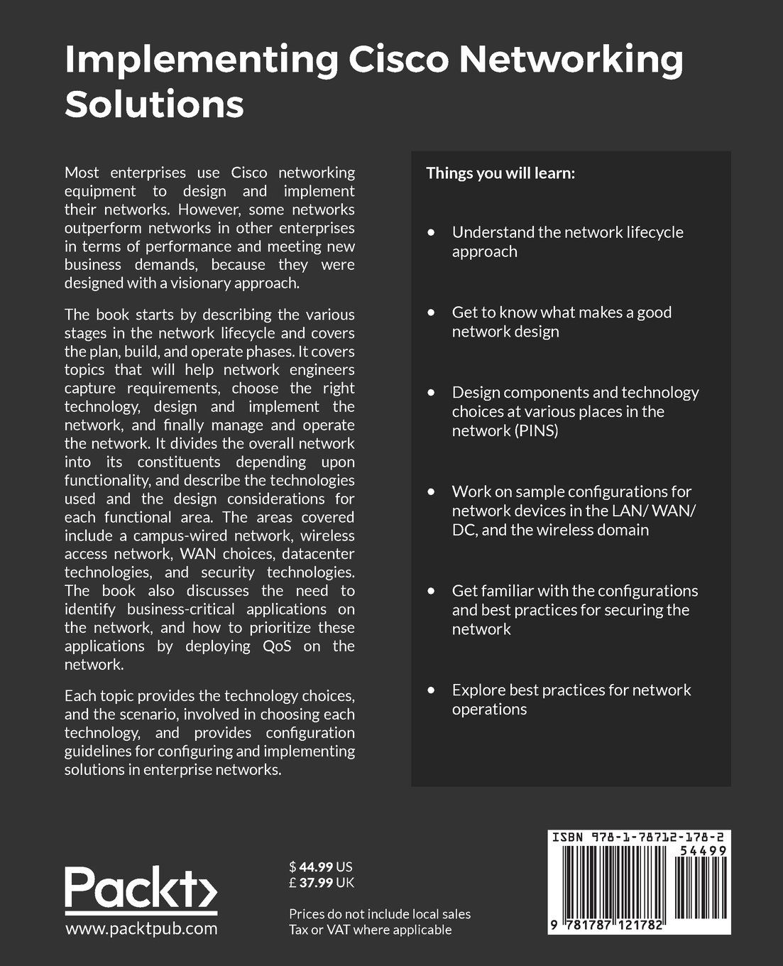 Implementing Cisco Networking Solutions: Configure