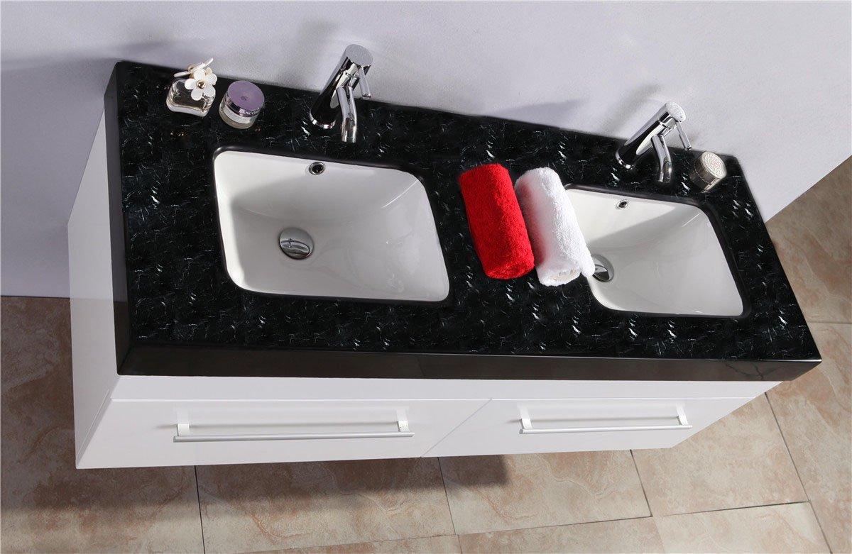 Mobili bagno top marmo - Bagno piano marmo ...