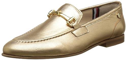 Tommy Hilfiger D1285oris 1z, Mocasines para Mujer, Dorado (Gold 023), 40 EU: Amazon.es: Zapatos y complementos