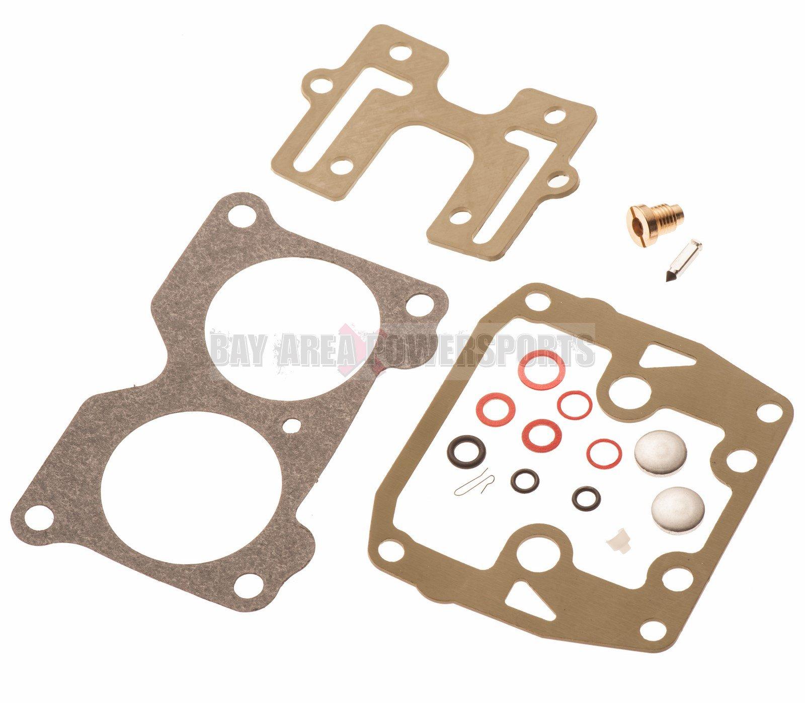 Johnson Evinrude Carb Carburetor Rebuild Kit 439076 V4 85 90 100 115 125 140 HP