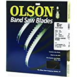 Olson Saw FB14593DB HEFB Band 6-TPI Skip Saw Blade, 1/4 by .025 by 93-1/2-Inch