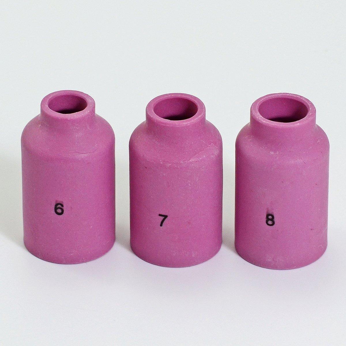 TIG Gaz Lens Collets Alumine Cup Kit Fit QQ300 PTA DB SR WP 17 18 26 Torche de Soudage Tig 9pcs