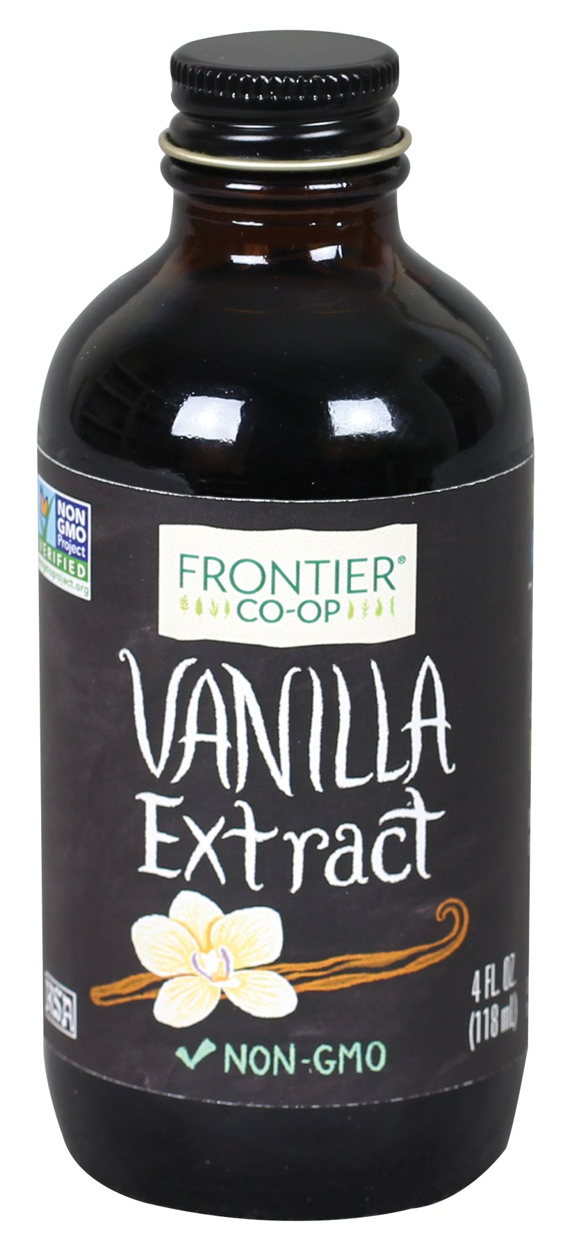 Frontier All-Natural Vanilla Extract, 4 Ounce by Frontier